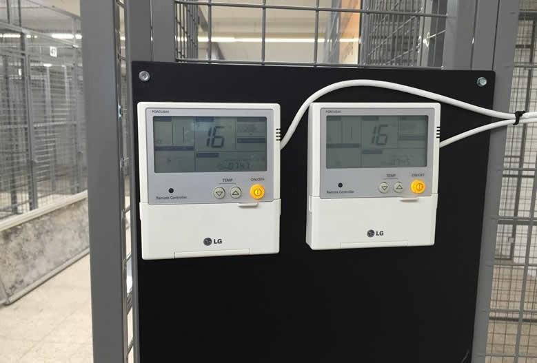 Temperatur overvågning